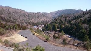 大江山から見下ろす酒呑童子の里