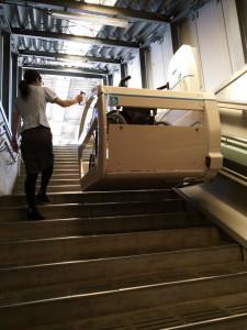 階段もスムーズに上がれます