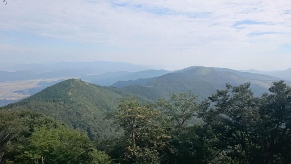 千丈ケ岳から見渡す大江山連邦