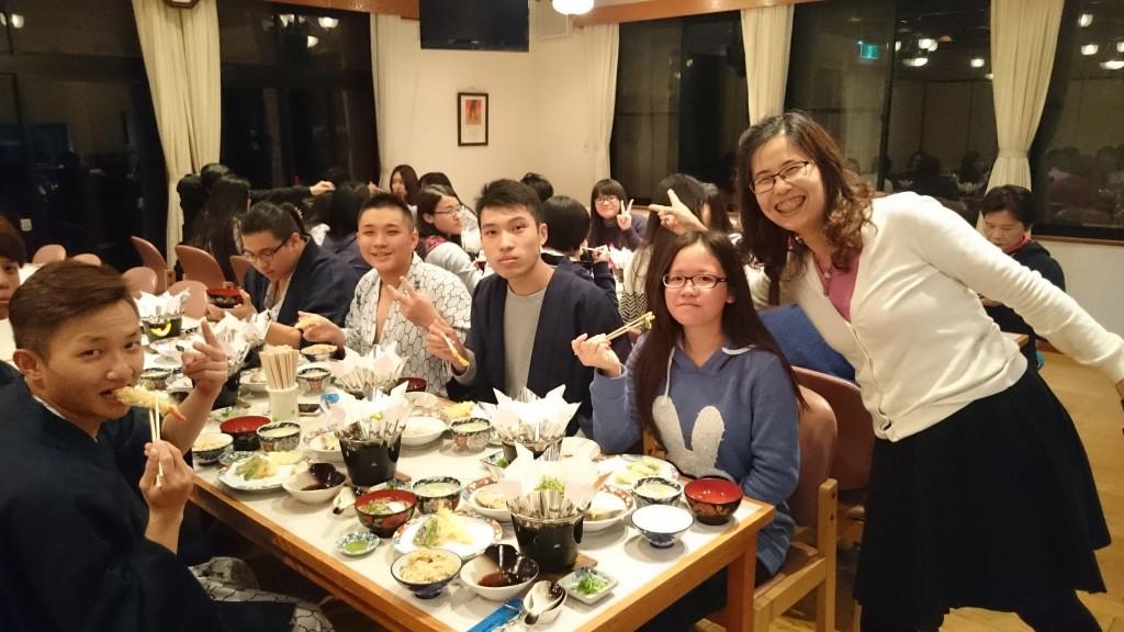 台湾人夕食