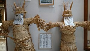 豊作を願って作られた、岩手県の鬼の藁人形